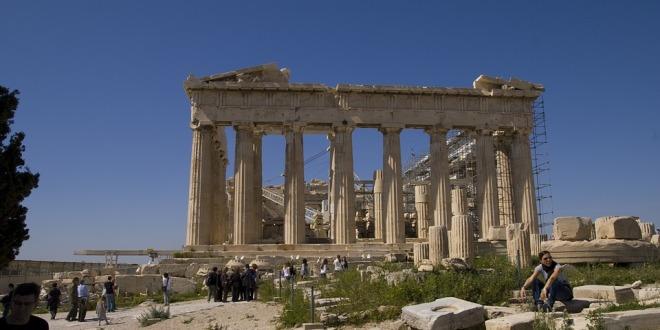 Starověký půvab Athén