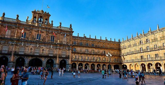 Krásné město Salamanca překvapí nejen architekturou