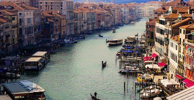 Hotel Benátky – romantické město s velkým množstvím vodních kanálů